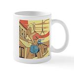 Sexy Western Cowgirl Pop Art Mug