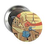 Sexy Western Cowgirl Pop Art 2.25