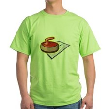 Curling rock T-Shirt