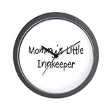 Mommy's Little Innkeeper Wall Clock
