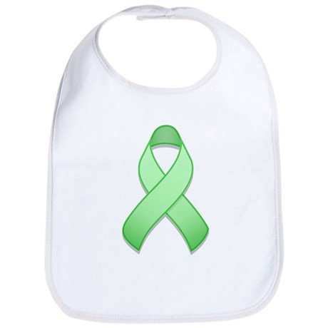 Light Green Awareness Ribbon Bib