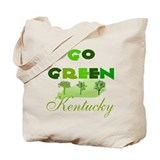 Go Green Kentucky Reusable Tote Bag