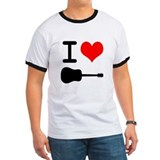 I Love (Heart) Guitar T