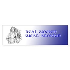 Wear Armour Bumper Bumper Sticker