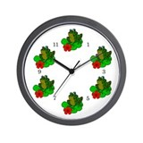 Frog and Lily Pad Wall Clock