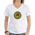 Kansas Game Warden Women's V-Neck T-Shirt
