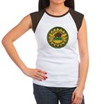 Kansas Game Warden Women's Cap Sleeve T-Shirt