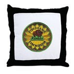 Kansas Game Warden Throw Pillow