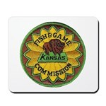 Kansas Game Warden Mousepad
