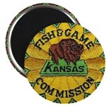 Kansas Game Warden Magnet