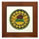 Kansas Game Warden Framed Tile