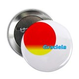 "Graciela 2.25"" Button"