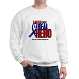 Never Knew A Hero 2 Military (Grandson) Jumper
