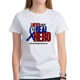 Never Knew A Hero 2 Military (Grandson) Tee