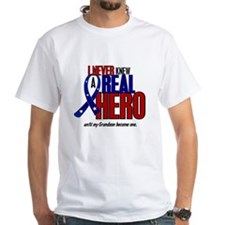Never Knew A Hero 2 Military (Grandson) Shirt
