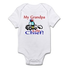 My Grandpa is the Chief Infant Bodysuit