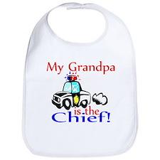 My Grandpa is the Chief Bib