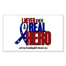 Never Knew A Hero 2 Military (Granddaughter) Stick