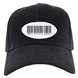 Real Estate Agent Barcode Cap
