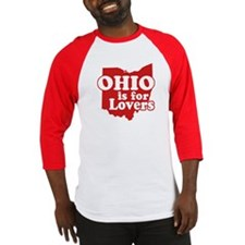 Ohio is for Lovers Baseball Jersey