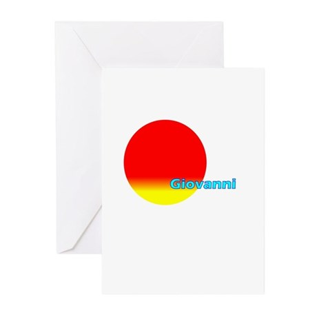 Giovanni Greeting Cards (Pk of 10)