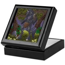 Celtic Stallion Keepsake Box