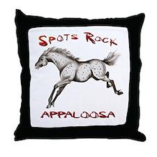 3_Spots Rock Throw Pillow