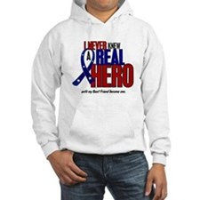 Never Knew A Hero 2 Military (Best Friend) Hoodie