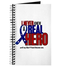 Never Knew A Hero 2 Military (Best Friend) Journal