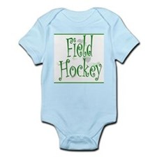 Field Hockey - Green -  Infant Creeper