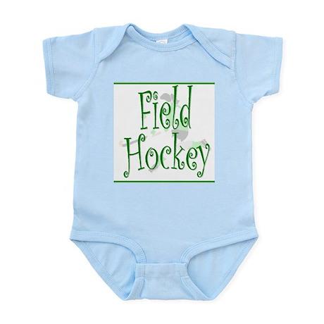 Field Hockey - Green - Infant Creeper