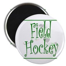 Field Hockey - Green - Magnet