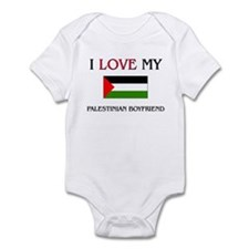 I Love My Palestinian Boyfriend Infant Bodysuit