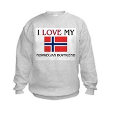 I Love My Norwegian Boyfriend Sweatshirt