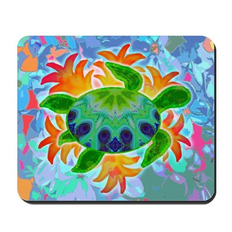 Flame Turtle Mousepad