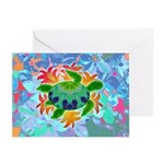 Flame Turtle Greeting Cards (Pk of 10)