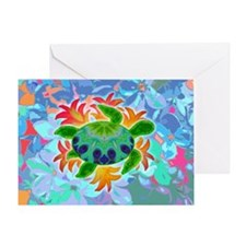 Flame Turtle Greeting Card