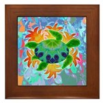 Flame Turtle Framed Tile