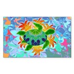 Flame Turtle Sticker (Rectangle 50 pk)