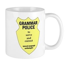 Grammar Police Speech Language Pathologist Mug