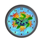 Flame Turtle Wall Clock