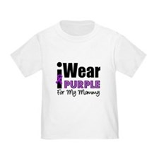Purple Ribbon Mommy T