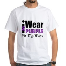 Purple Ribbon Mom Shirt