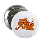 Tiger 2.25&quot; Button (10 pack)