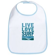 Live, Love, Surf - Bib