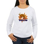 Colts Mascot Women's Long Sleeve T-Shirt