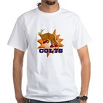Colts Mascot White T-Shirt