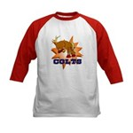 Colts Mascot Kids Baseball Jersey