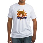 Colts Mascot Fitted T-Shirt