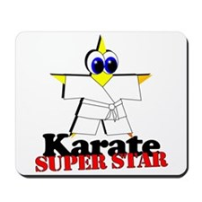 Karate Super Star Mousepad